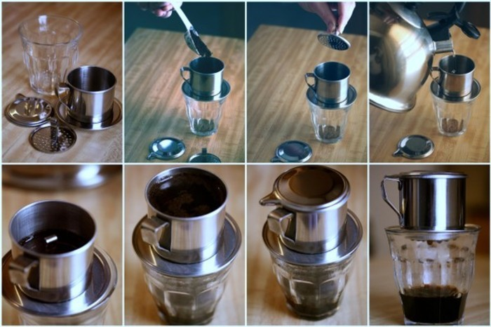 Vietnamese Dripped Coffee
