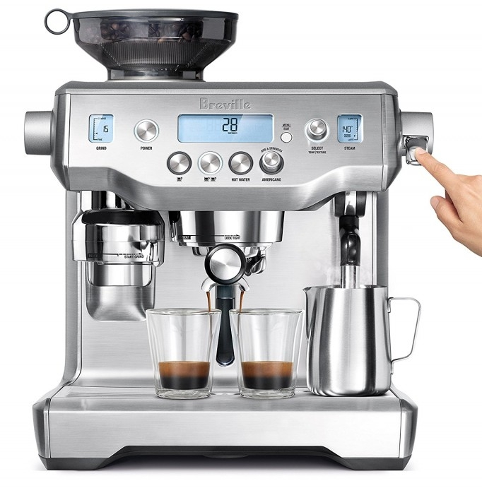 May pha cafe espresso Breville BES980XL Oracle